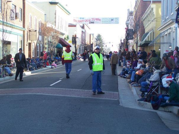 Parade Volunteer